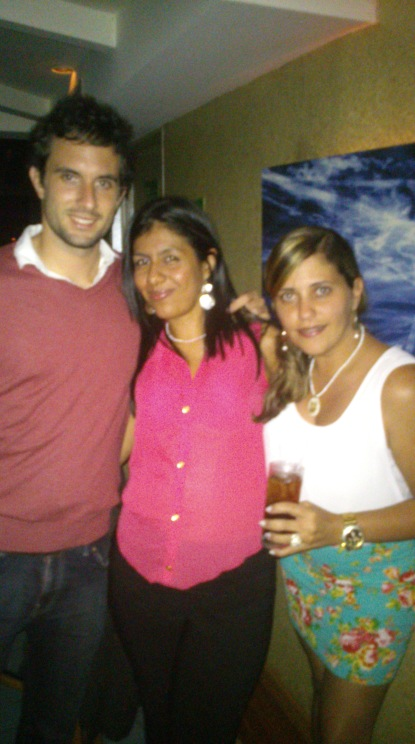 1st night party Caracas