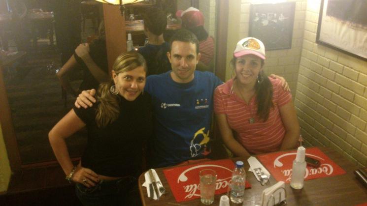 cenita con Dgisa y Fernanda