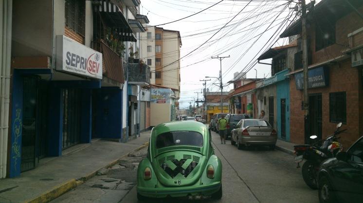Aspecto de una calle cualquiera de Mérida