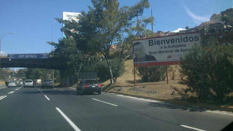 Chavez autopista