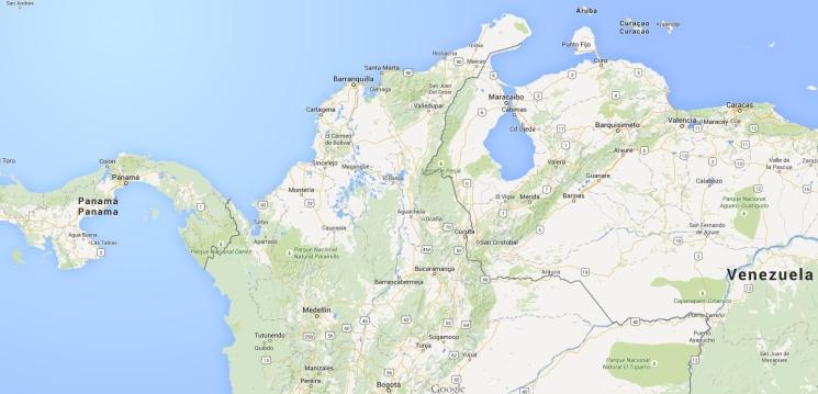 San cristobal map