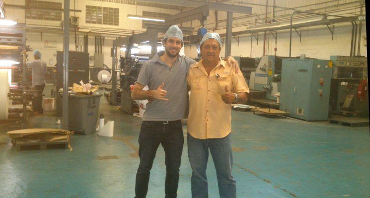 mi tío y yo fábrica